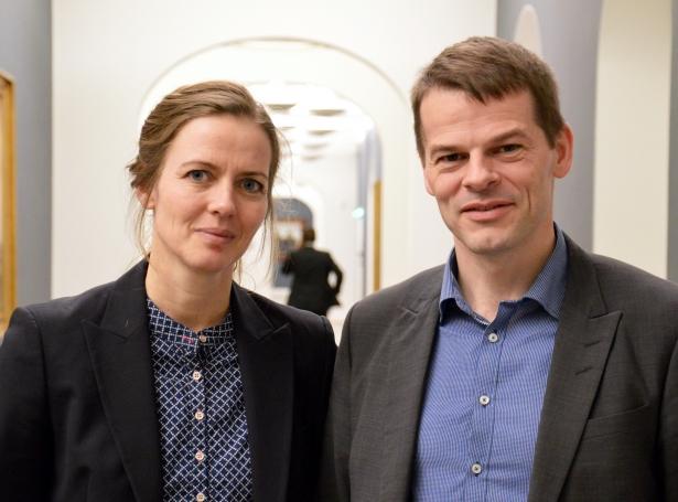 Ellen Trane Nørby og Bárður á Steig Nielsen