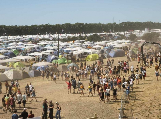 Roskilde Festival (Mynd: Scanpix)