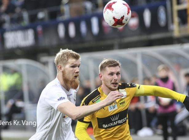 Odmar Færø slær fast, at nú skal B36 taka av møguleikanum í Evropa League (Mynd: Jens Kr. Vang)