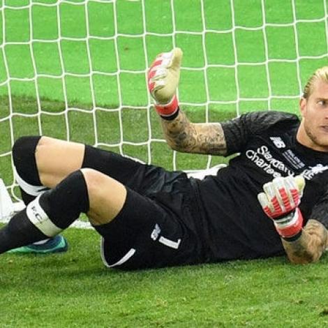 Loris Karius fekk heilaskjálvta í Champions League finaluni 2017/2018