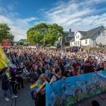 Faroe Pride setir aftur ælabogalitir á Havnina