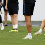 Bóltsnillingurin Luka Modric og hinir kroatarnir skulu takast við vertirnar í Sochi í kvøld (Mynd: EPA)