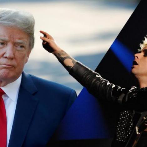 """Donald Trump vitjar í London – """"American Idiot"""" endar á hittlistunum"""
