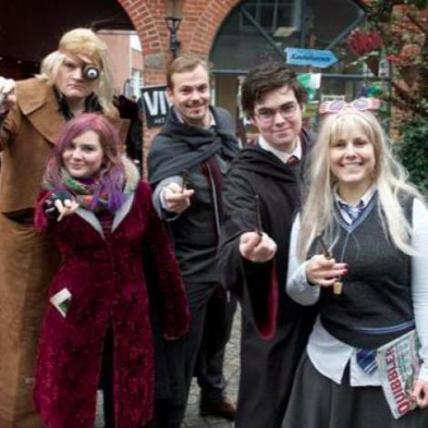 Warner Brothers noyðir danskan Harry Potter festival at broyta navn