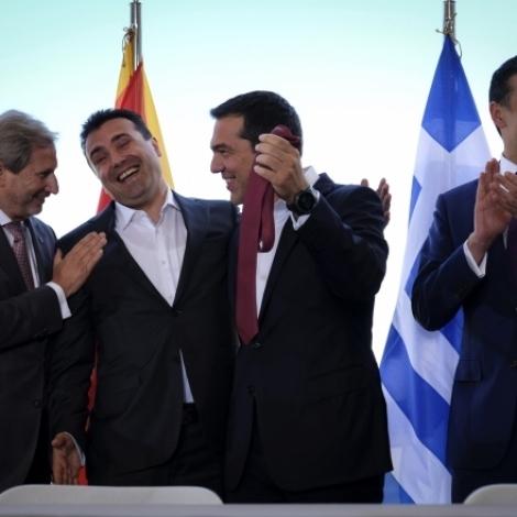 NATO hevur bjóðað Makedonia í verjusamgonguna