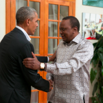 Barack Obama vitjar í Kenya
