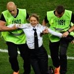 Pussy Riot tekur ábyrgd fyri at bróta HM finaluna av