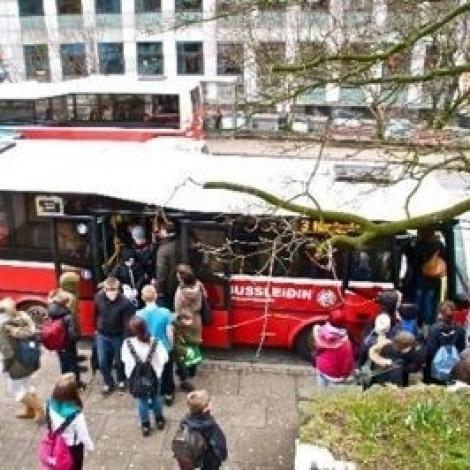 Soleiðis koyra bussarnir á ólavsøku