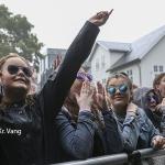 Myndir: Tórsfest byrjaði í regni