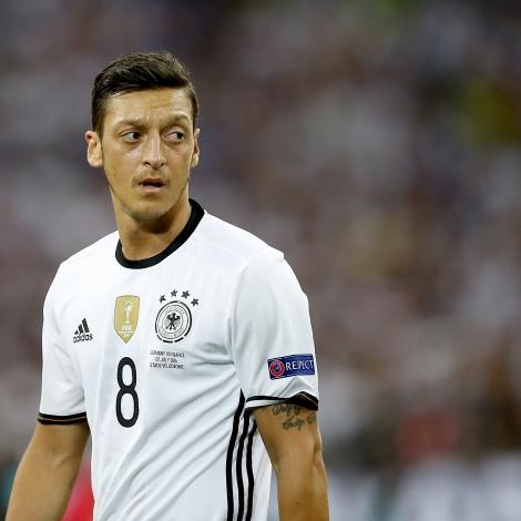 Mesut Özil (Mynd: EPA)