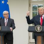 ES og USA samd um rammur fyri handilsavtalu