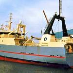 Skipasøga: Sjúrðarberg skrásettur tvær ferðir í føroyska flotanum