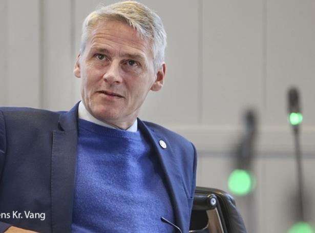 Høgni Hoydal, landsstýrismaður í fiskivinnumálum (Mynd: Jens Kr. Vang)