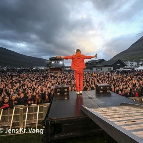 Størsti pallur nakrantíð á Summarfestivalinum