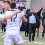 B36 vann 2-1 á KÍ í Gundadali í kvøld (Mynd: Sverri Egholm)