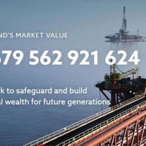 Norski oljugrunnurin setir met