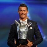 Cristiano Ronaldo hevur vunnið tríggjar ferðir
