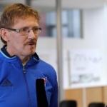 Jógvan Martin Olsen, U19-landsliðsvenjari - Mynd: Hans Erik Danielsen