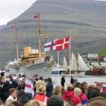 Krúnprinsahúskið vitjar í Klaksvík og Mikladali