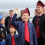 Myndir: Fyrsti dagurin - krúnprinsafamiljan í Føroyum