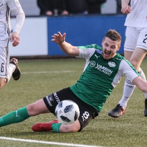 Suðringar vunnu 2-0 í Saprugerði í kvøld Savnsmynd (Mynd: Sverri Egholm)