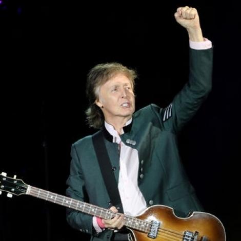 Paul McCartney til Keypmannahavnar