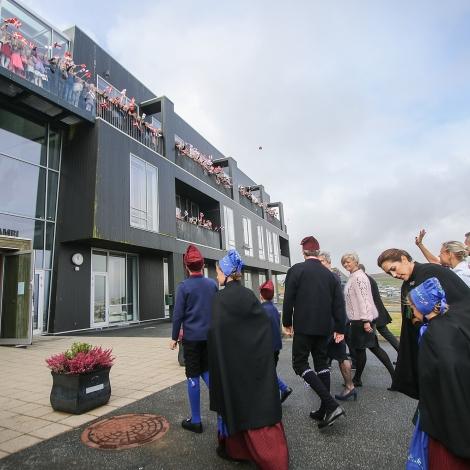 Myndir: Vitja á Hamrinum og Finsen fyrrapartin