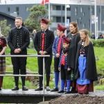 Myndir: Krúnprinsfamiljan vitjar í Klaksvík