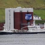 Fagraberg landar í Fuglafirði