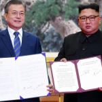 Norður- og Suðurkorea undirskrivað avtalu