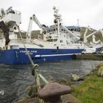 Finnur Fríði kom á Tvøroyri í gjár við makreli