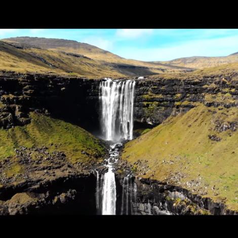 Video: Flott dronuupptøka av Føroyum