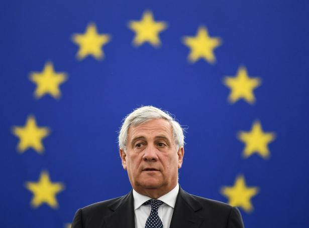 Antonio Tajani, formaður í Evropa-parlamentinum