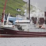 Grønlendskt uppsjóvarskip hevur landað í Fuglafirði