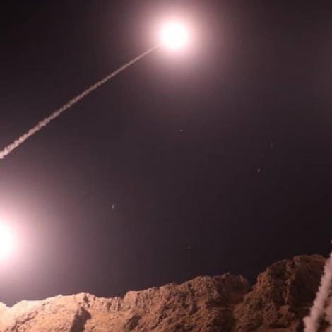 Iran skotið rakettir inn í Sýria