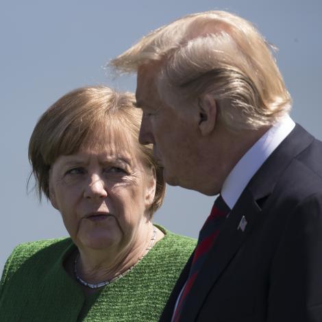 Heimurin hevði valt Merkel heldur enn Trump
