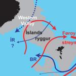 Øðrvísi rák tvørtur um Íslandsryggin enn væntað