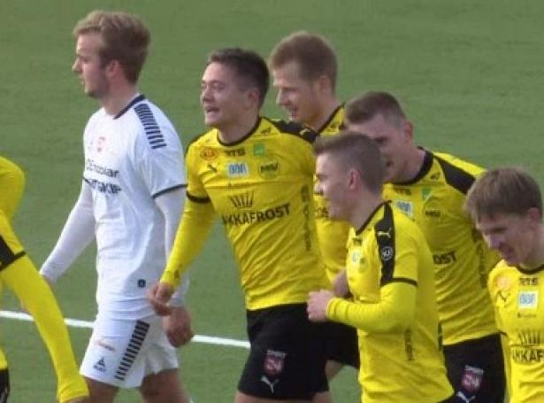 Pætur Turidarson Skipanes er úttikin til U19-landsliðið, sum skal spæla innleiðandi EM-undankapping í Írlandi - Mynd: KVF.fo (skíggjamynd)