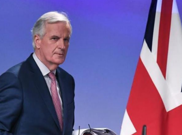 ES samráðingarleiðarin, Michel Barnier (Mynd: AFP)