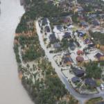 Norra: 150 fólk evakueraði undan vatnflóð