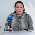Grønland: Landsstýriskvinnan leggur frá sær