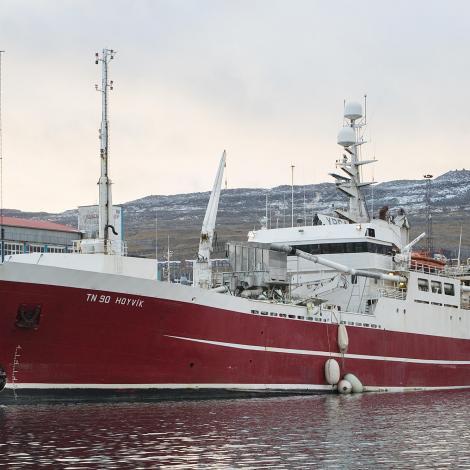 Hoyvík hevur fiskað kvoturnar fyri 2018