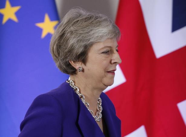 Bretski forsætisráðharrin Theresa May (Mynd: EPA)