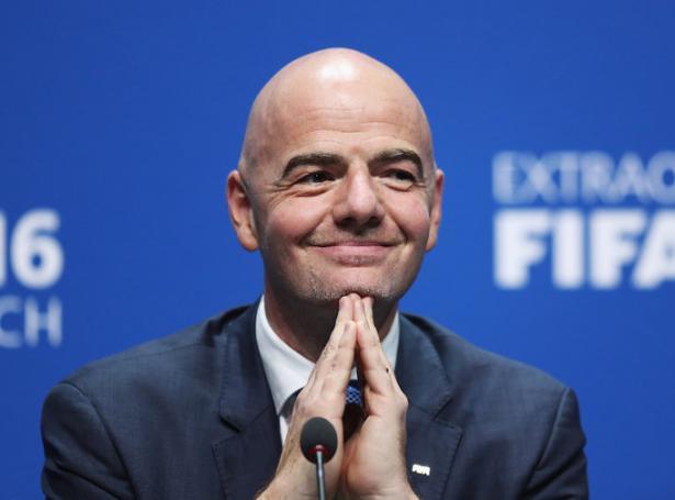FIFA forsetin Gianni Infantino
