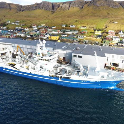 3200 tons av sild virkast á Varðin Pelagic