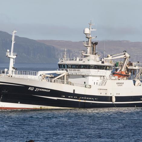 Norðingur hevur landað makrel í Kollafirði