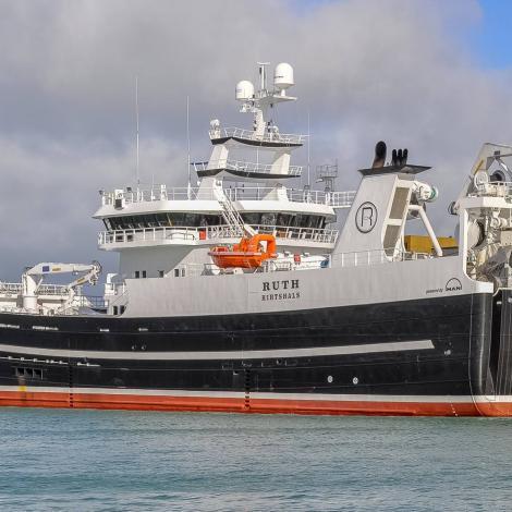 Ruth hevur fiskað kvoturnar fyri 2018