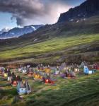 Kinverjar vilja leita eftir olju á landi í Grønlandi