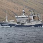 Arctic Voyager hevur landað svartkjaft í Fuglafirði