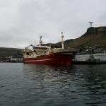 Jupiter landar makrel á Tvøroyri